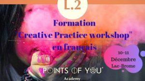 Formation L.2 - Points of You® - ''Français'' @ Hôtel Suites Lac-Brome
